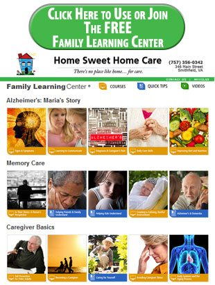 Family Learning Center Button